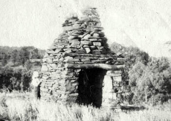 An important part of Flinders Ranges history, the first settlers' cottage at Holowiliena still stands today.